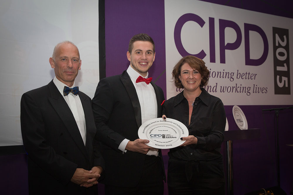 Jordan Love CIPD award winner